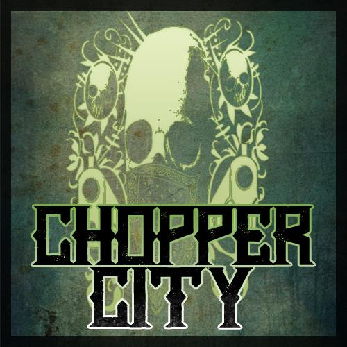 New font by Chris Vile Chopper City