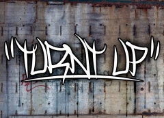 Turnt Up! Font