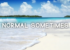 Normal Sometimes Font