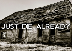 Just Die Already Font